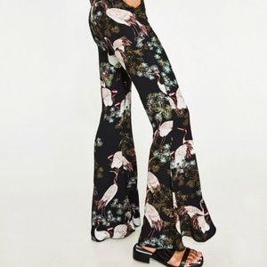 Zara crane bell bottom pants